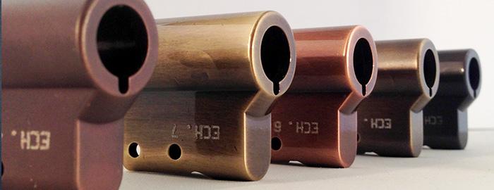 Nouvelle gamme IndusLuxe : les cylindres de serrure précieux