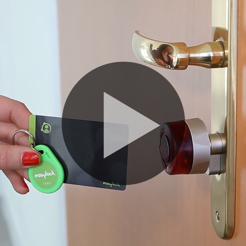 Vidéo : Programmation d'une serrure électronique easylock en mode Mastercard
