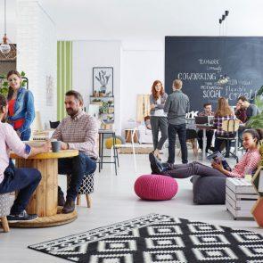 Serrure connectée espace coworking