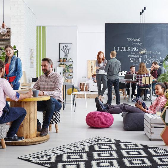 Serrure connectée pour espace de coworking