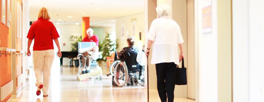 Contrôle d'accès pour résidence de retraite