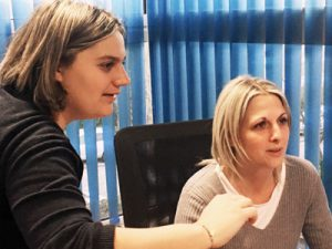 Coralie et Céline